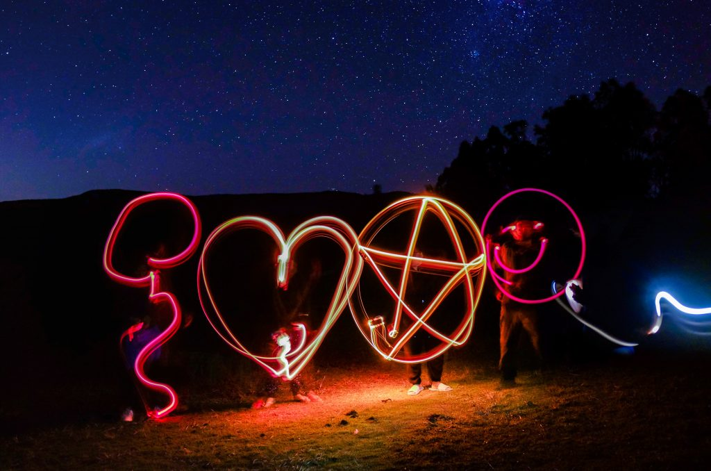 flashlight art