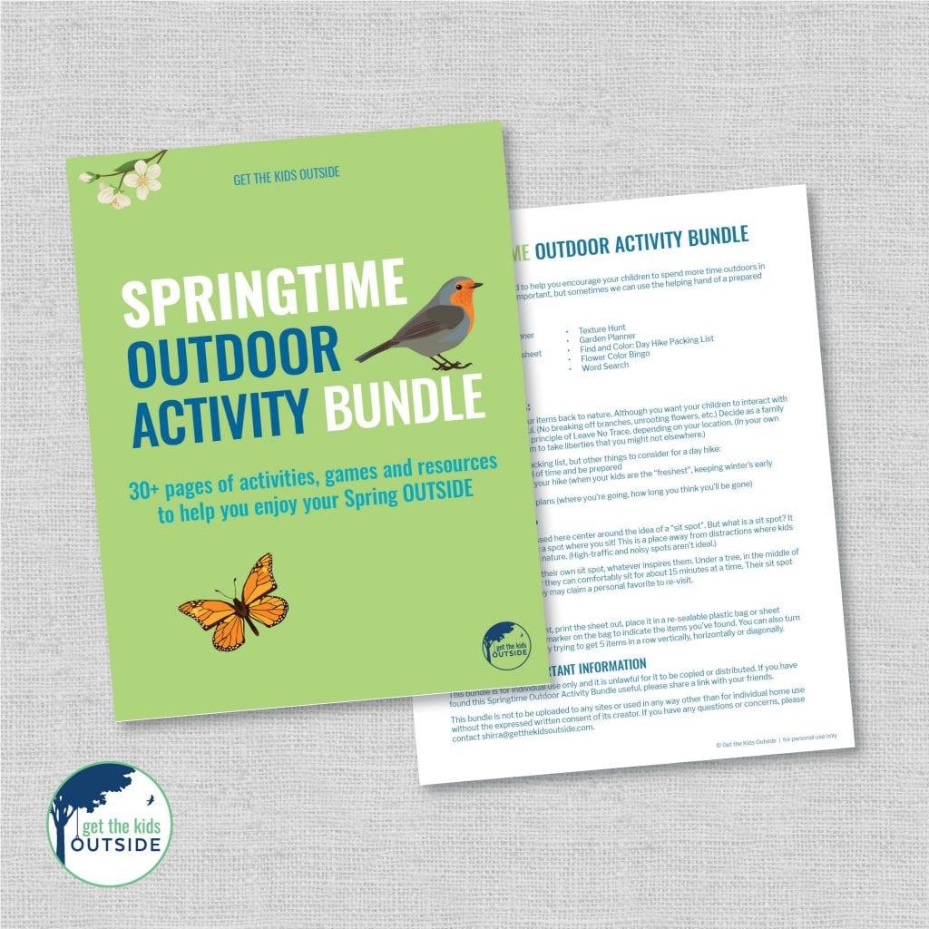Springtime Outdoor Activity Bundle